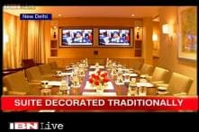 A sneak peek into Obama's presidential suite at ITC Maurya