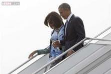 Special 'Kadhua' Banarasi silk saree for Michelle Obama