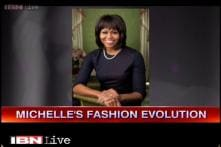 Watch: Michelle Obama's experiment with looks, colours