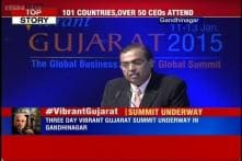 Watch: RIL Chairman Mukesh Ambani addresses the gathering at Vibrant Gujarat Summit