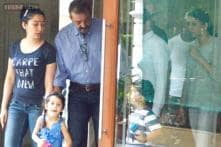 Snapshot: Sanjay Dutt's 14-day-long furlough ends, leaves Mumbai home to report back to the jail