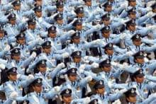 In pics: First ever march on Republic Day by all-woman contingent of Army, Navy, Air Force