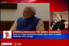 Syriac Orthodox Patriarch welcomes PM Modi's statement against church attacks
