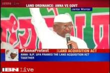 BJP no different from Congress, the two hand-in-glove over land acquisition: Anna