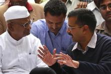 Arvind Kejriwal returns to Jantar Mantar after 4 years to join his 'guru' Anna Hazare's protest