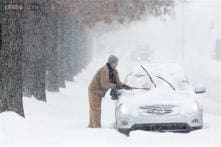 Yet another blizzard hits US east coast