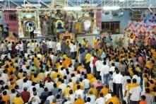 Lathmar holi celebrated in Mathura on Friday