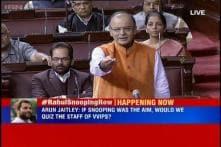 No snooping on Rahul, it is 'transparent profiling': Arun Jaitley