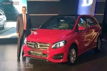 Mercedes-Benz B-Class facelift launched at Rs 27.95 lakh in India
