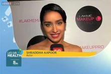 Eat well, exercise well and live healthy: Shraddha Kapoor