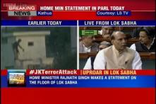 Live: Jammu and Kashmir Police and CRPF personnel have killed two terrorists, says Rajnath Singh