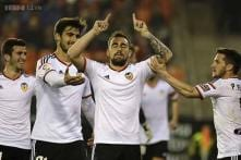Valencia beat Deportivo 2-0 to move 3rd in Spanish league