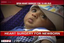18-hour-old baby from Mathura India's youngest patient to undergo an open heart surgery