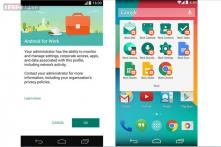 Google rolls out Android for Work app