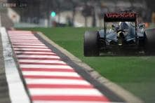 Intruder dashes across F1 track during Chinese GP practice