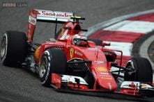 Kimi Raikkonen gets a chance to show his pace