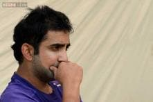 Supporting a smaller sport is always good: Gautam Gambhir