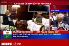BJP MLAs protest against providing security to Hurriyat leaders in J&K Assembly