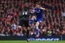 Chelsea's Oscar taken to hospital after collision in derby