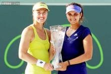 Sania Mirza-Martina Hingis win Miami Open title