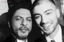 Shah Rukh Khan's selfie with Zayn Malik is India's most retweeted photo