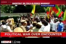 Political war between Tamil Nadu and Andhra Pradesh over killing of 20 alleged red sander smugglers