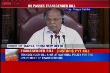 Rajya Sabha creates history, passes Private Member's Bill to protect rights of transgenders