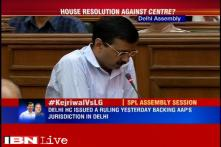AAP government adopts motion to discuss Centre's notification backing L-G in Delhi Assembly
