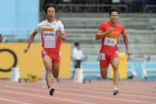 China's Su Bingtian runs historic sub-10 second 100m in Eugene