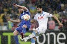 Ukraine's Dnipro Dnipropetrovsk beat Napoli to reach Europa League final