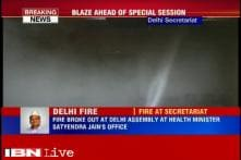 Fire breaks out at Satyendra Jain's office in Delhi Assembly