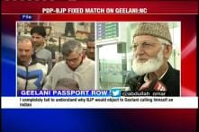Omar slams BJP for putting conditions over Geelani's application for Indian passport