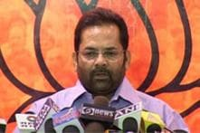 Rahul Gandhi's meeting street vendors 'political gimmick': Union Minister Mukhtar Abbas Naqvi