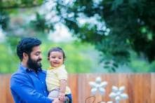 Snapshot: Aww! NTR Jr poses for an adorable photo with son Abhay Ram