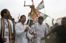 Modi in 'amazing hurry' to 'grab' land of farmers by re-promulgating Land Ordinance for 3rd time: Rahul