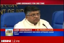 Land ordinance to be re-promulgated