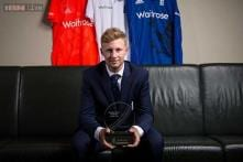 Joe Root named England's cricketer of the year