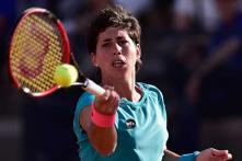 Spain's Carla Suarez advances to third round in Italian Open
