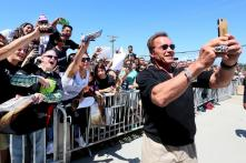 Arnold Schwarzenegger, Dwayne Johnson and Jorge Bernal: Most adorable star selfies you will ever see