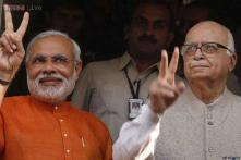 Government on right track to bring 'achhe din': Advani