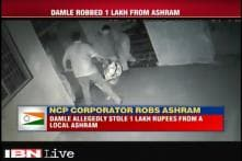 Caught on camera: NCP corporator robs Rs 1 lakh from Thane ashram