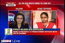 Beno Zephine becomes India's first 100% blind IFS officer