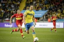 Ibrahimovic double secures Sweden win over Montenegro
