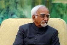 Vice President was not invited to Yoga Day event, says Hamid Ansari's office