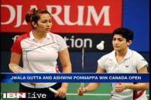 Jwala Gutta-Ashwini Ponnappa lift Canada Open title