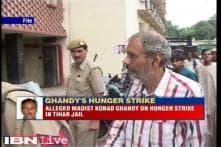 Alleging harassment by Tihar Jail authorities, Kobad Ghandy on hunger strike