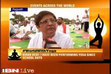 International Yoga Day needed for peace revolution says Kiran Bedi