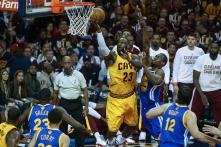 NBA Finals: LeBron James sets record as Cavaliers beat Warriors to go 2-1 up