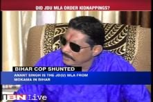 Nitish government faces ire over action against SSP who took on JDU leader