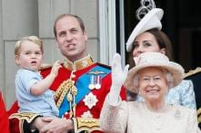 Photos: Prince George steals the limelight at Queen Elizabeth's birthday as he makes his debut on the balcony